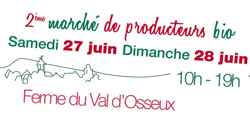 marché de producteurs bio le val d'osseux rouy samedi 27 juin dimanche 28 juin 2015