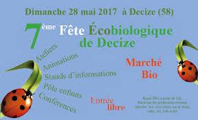 fête écobio decize 28 mai