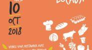 marché de producteurs locaux salon de l'alimentation de proximité ferme du marault 10 octobre 2018 le val d'osseux fromage agriculture biologique nievre nivernais